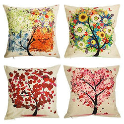 Under the Tree Throw Pillow Covers Decorative Pillowcases