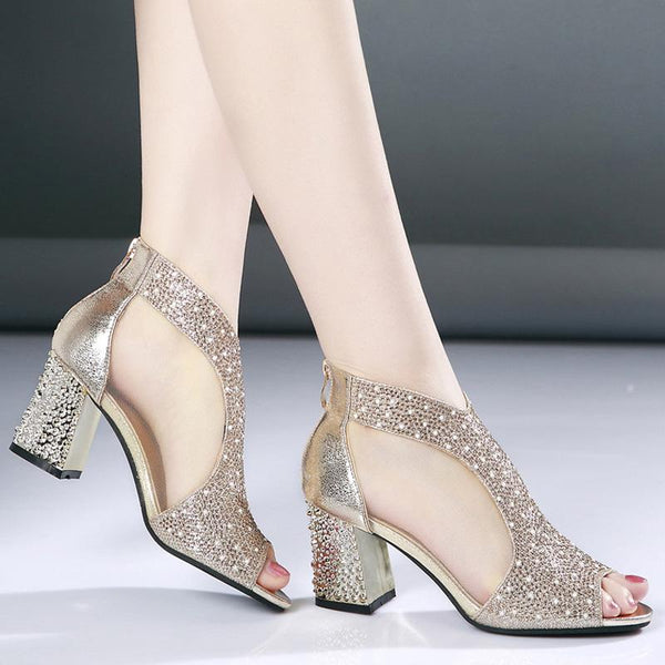 Women Diamond Heels