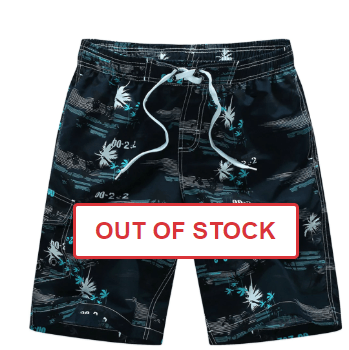 Coconut Tree Printed Hawaiian Shorts