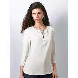 RABE Blouse with 3/4-length sleeves