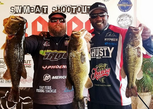 Dante Ray and Bill O'Shinn take 1st in BABC Swimbait Shootout #2