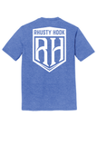 Rhusty Hook Shield - Blue