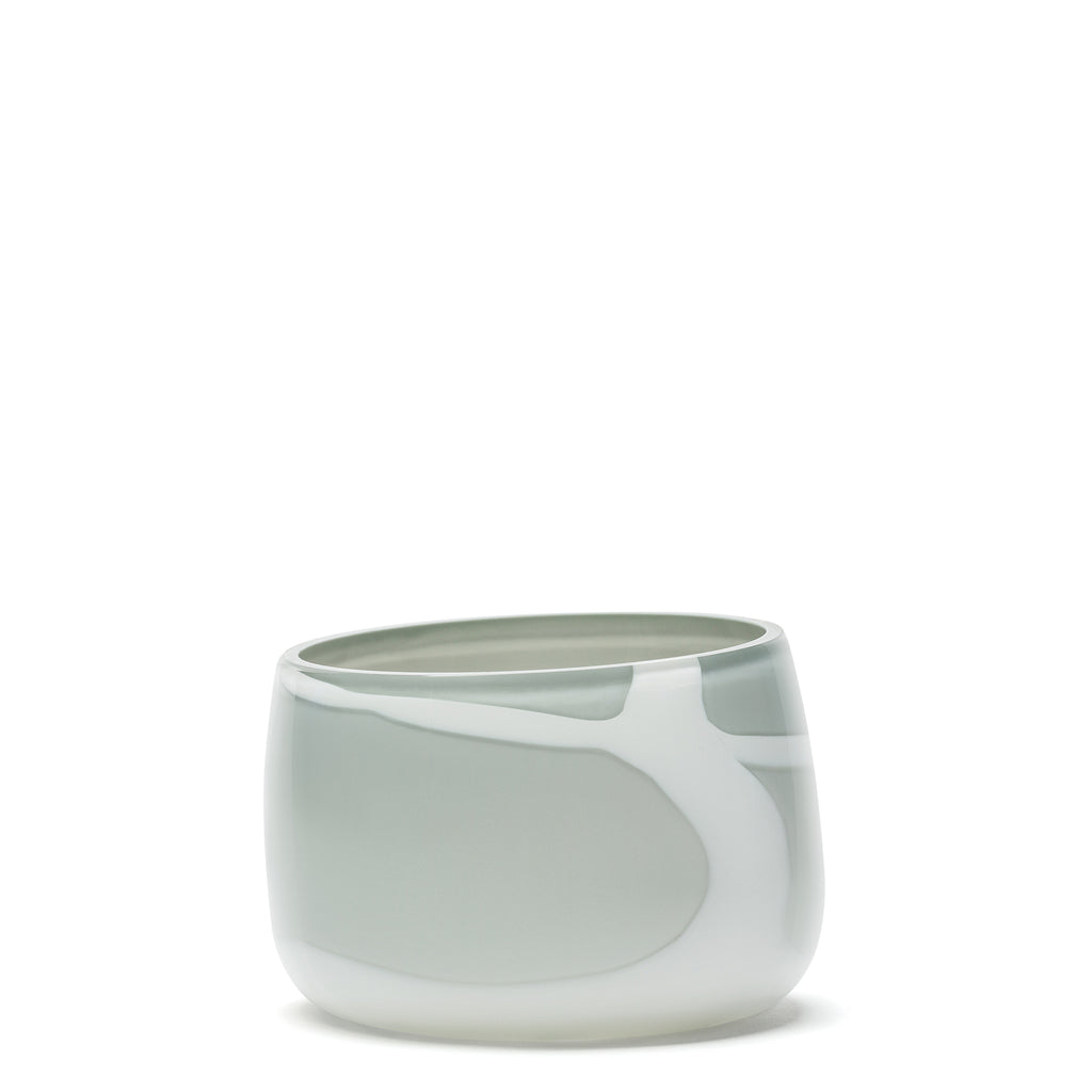 Grey/White Stroke Bowl