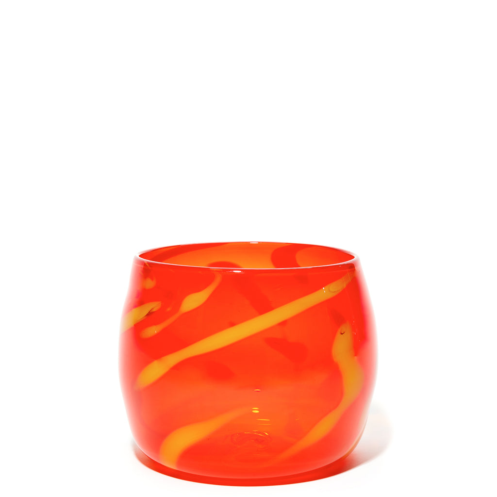 Orange/Yellow Swirl Bowl