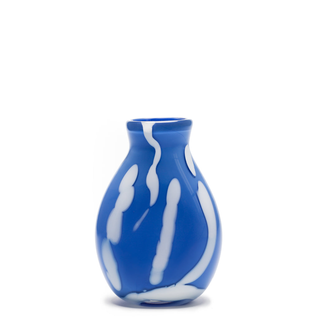 Blue/White Stroke Vase