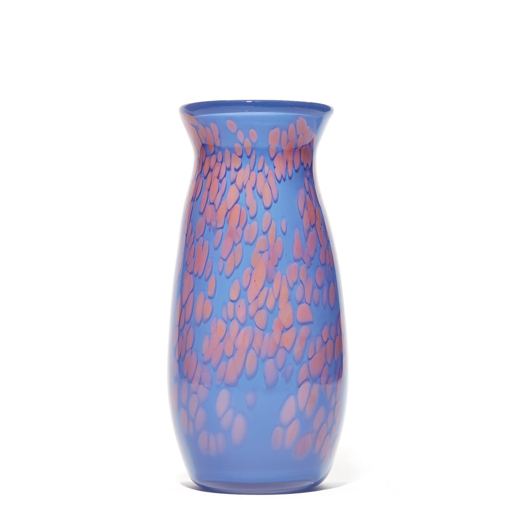 Purple/Pink Spotted Vase
