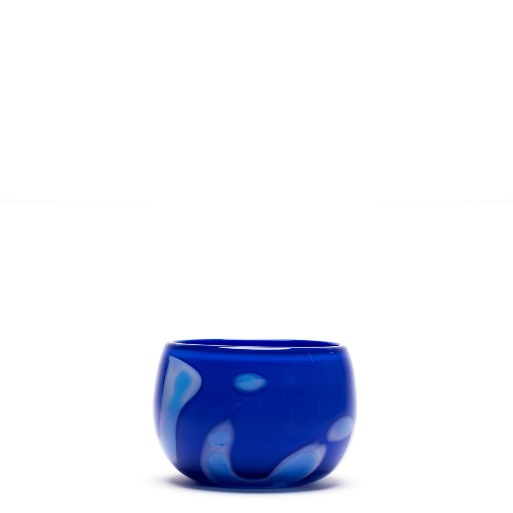 Blue/Light Blue/White Stroke Bowl