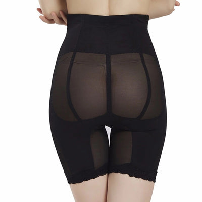 black Extreme Waist and Thigh Slimmer -Butt Lifter Body Shaper