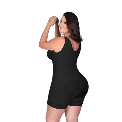 Full Body Clip and Zip Slimming Body Shaper