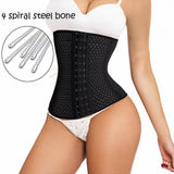 Hourglass Comfy Breathable Waist Trainer 6 Hooks