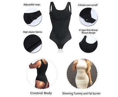 Thong Body Shaper Seamless Firm Control