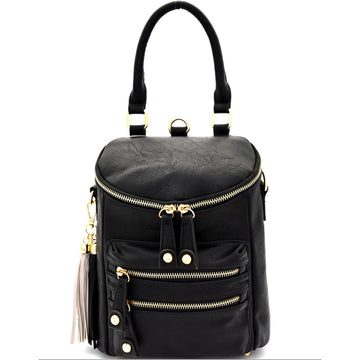 Yassmine Tassel Backpack