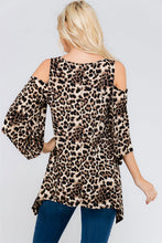 Women's Animal Print Tunic Top