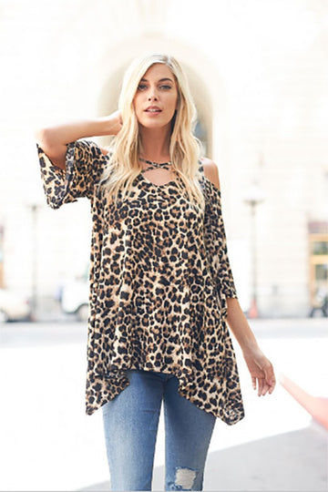Women's Animal Print Shirt