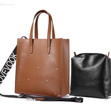 daphne tote bag brown