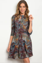 Women's Floral Fall Dress