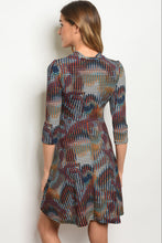 Women's Floral Tunic Dress for Fall