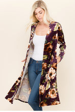 Women's Floral Fall Cardigan