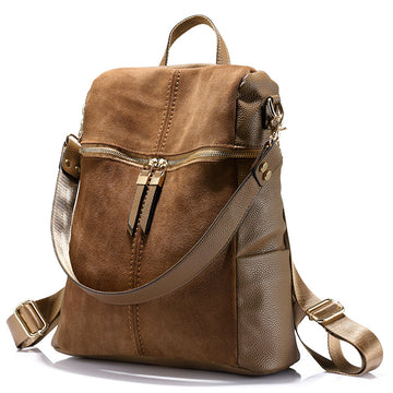 Brown Fashion Backpack