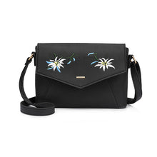 Pretty Petals Crossbody Embroidery Bag