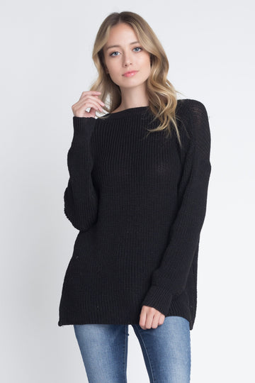 Casual Loose Fit V-Neck Sweater
