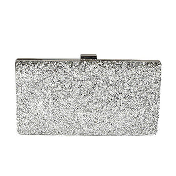 Rhinestone Girl Evening Clutch Purse
