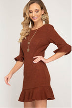 Women's Short Dress for fall and winter