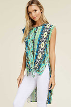 Women's Sleeveless Southwest Blouse