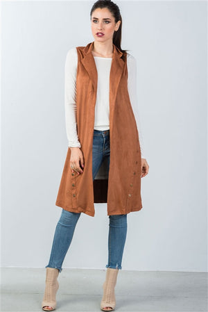 Women's knee length cardigan