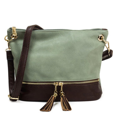 Two Toned Crossbody Bag