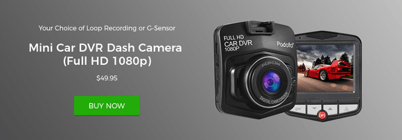 mini car dvr dash camera