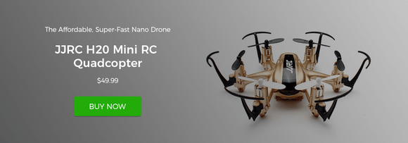 JJRC H20 Mini RC Quadcopter