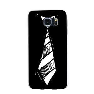 Simple Necktie Phone Back Case Cover for iPhone 6 7 Plus Samsung Galaxy S6 S7