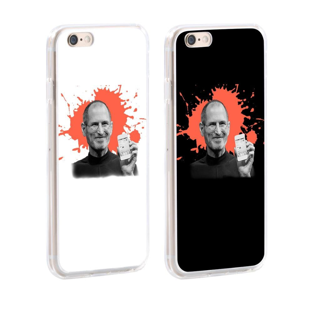 Steve Jobs Print Case Cover for iPhone 8 Plus X (10) Samsung Galaxy S8 Huawei P9