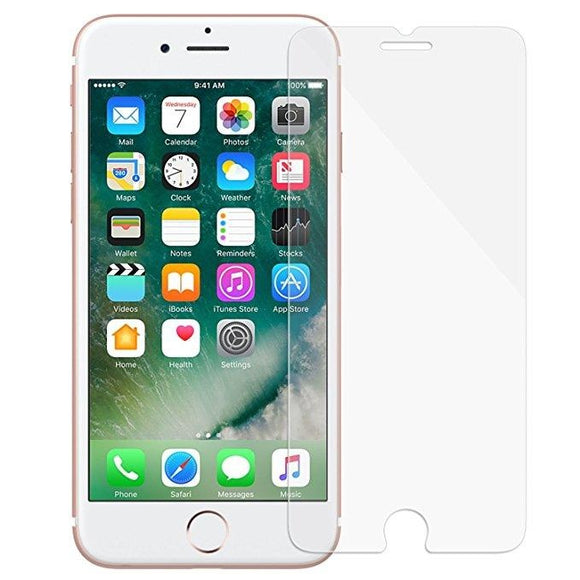 Specifically designed for Apple iPhone 8 / 7 / 6s / 6, 4.7-Inch Tempered Glass Film