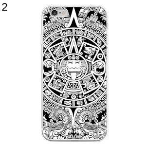 Mystery Mayan Long Count Case Cover for Samsung Galaxy S6 S7 Edge iPhone 7 Plus
