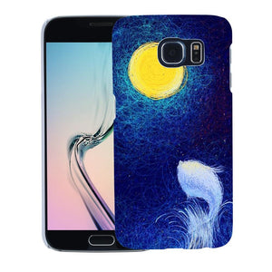 Sea Night Case Cover for iPhone 6 7 Samsung S7 Huawei P9 Xiaomi Redmi Note 2 3