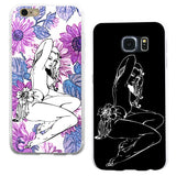 Sexy Woman Printed Phone Case Cover for iPhone 5C 6 Samsung Galaxy Note 4 5