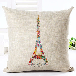 Eiffel Tour Pillow Case