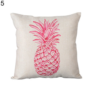 Pink Pineapple Pillow Case