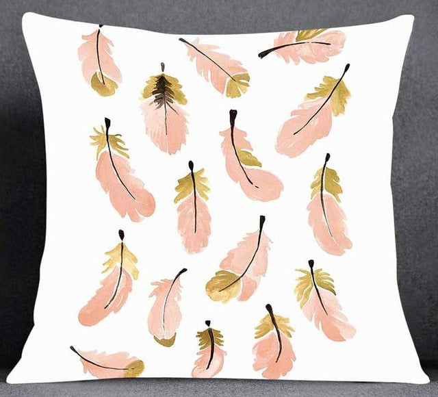 Feather Pillow Case