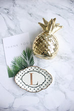Pineapple Saving Jar in Gold