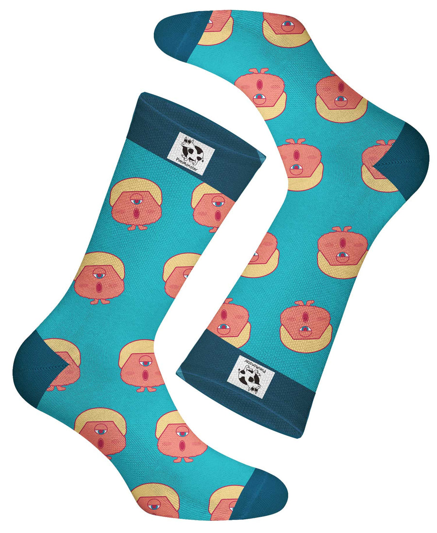 nspired by a certain businessman turned politician but representing bossholes everywhere. Mock your favorite bosshole today by wearing these stylish socks! This bosshole sock will cool and comfort your feet during the any political heat.....