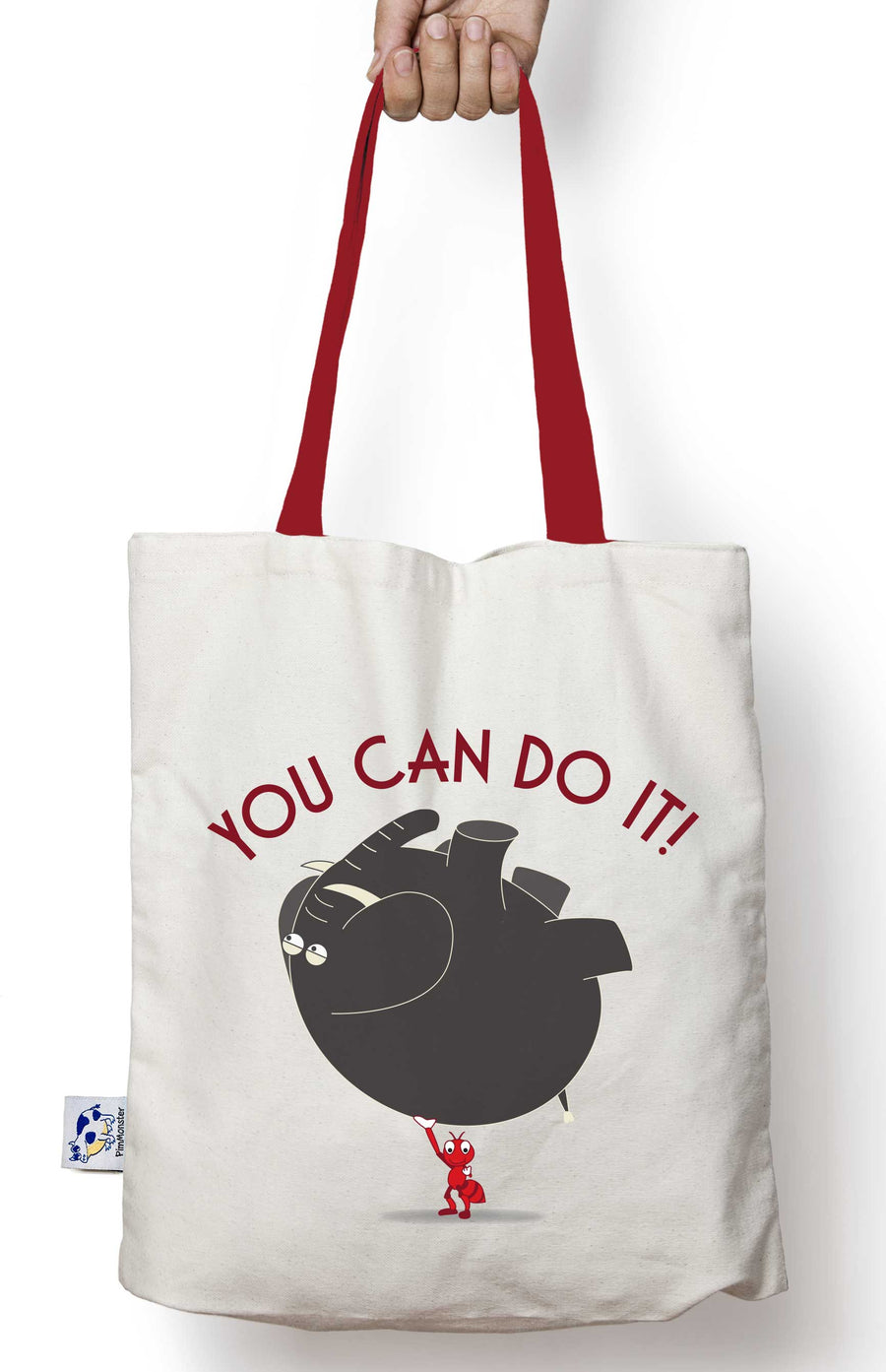 You Can Do It! tote bag - Pimmonster
