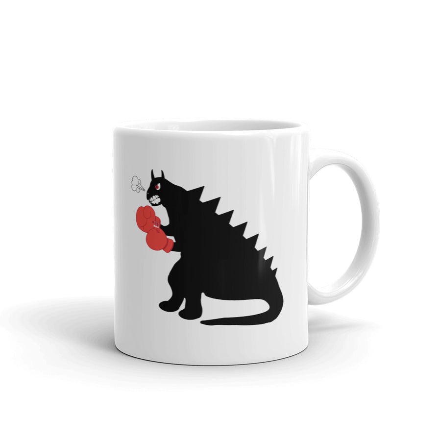 The Red Fist Mug - Pimmonster