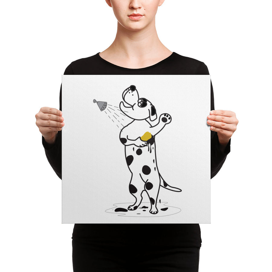 Mr Dalmation Canvas - Pimmonster