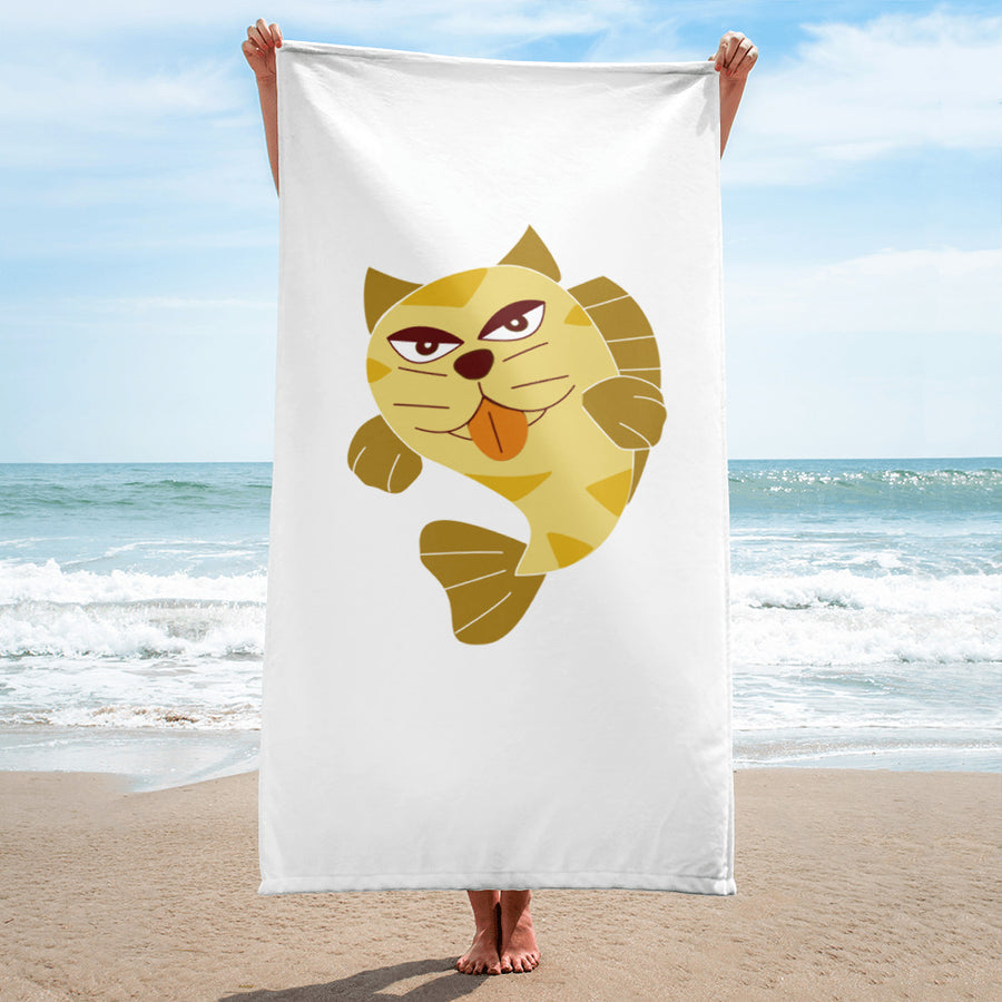 CatFish Towel - Pimmonster