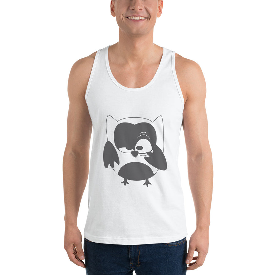 The Night Owl tank top (unisex)