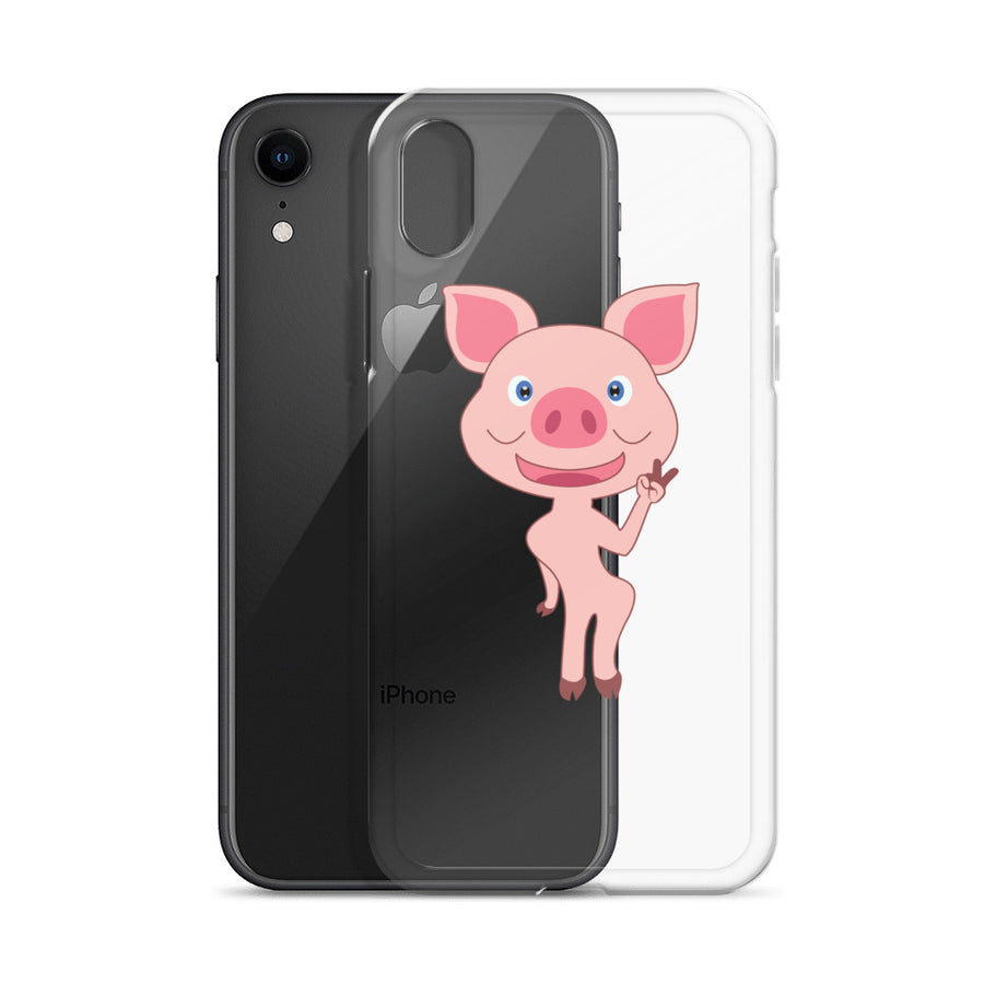 Ms Skinny Piggy iPhone Case - Pimmonster