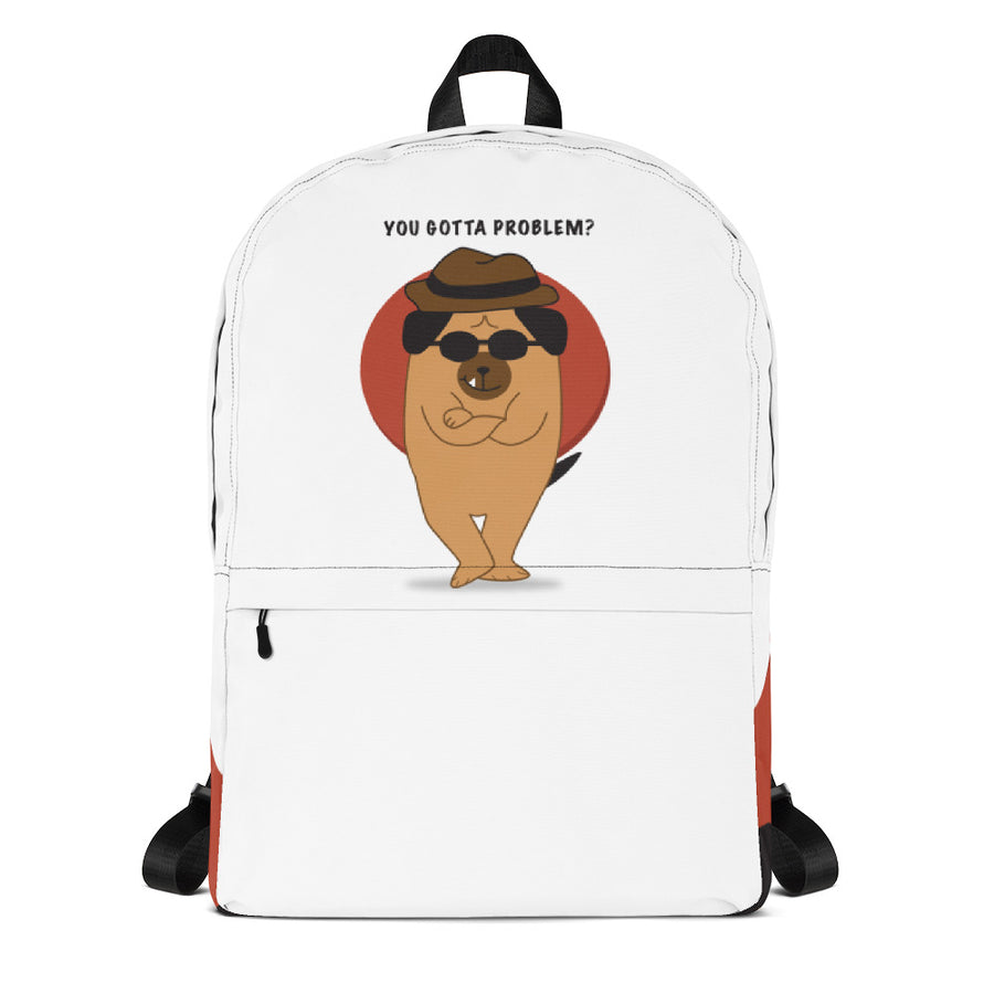 The Mafia Dog Backpack - Pimmonster